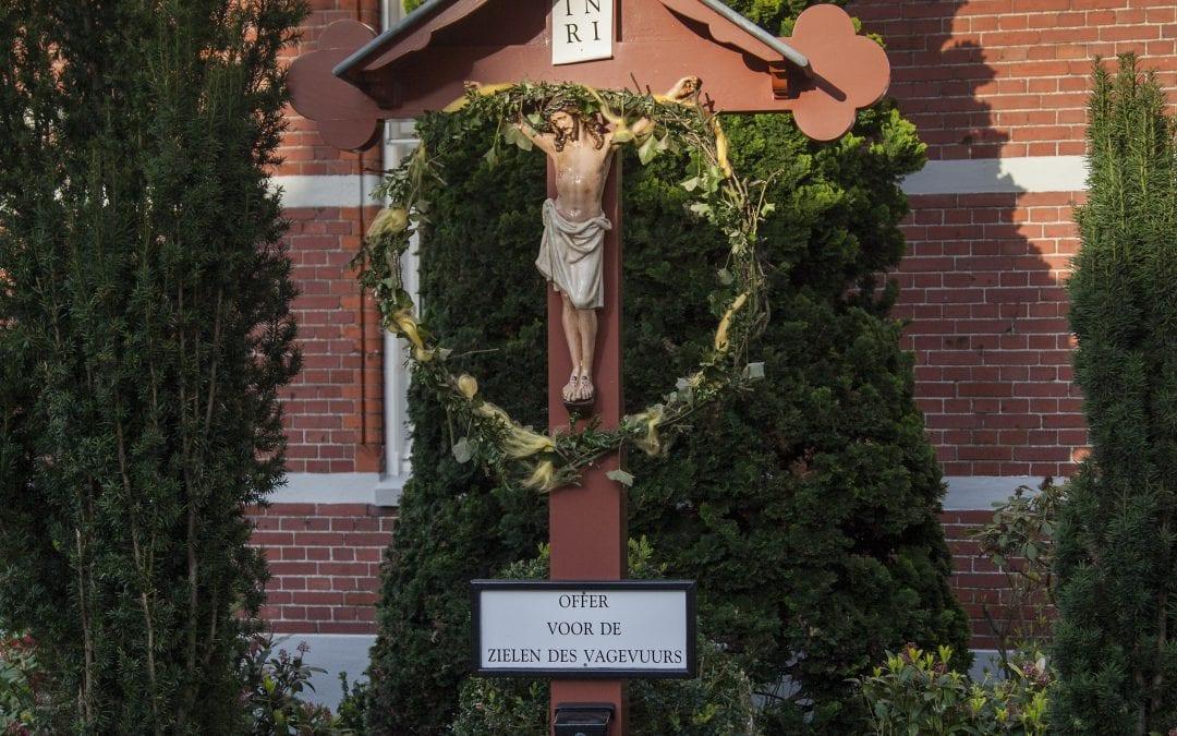 60 Wegkruis, Stationsweg-Bongerdstraat, Venray